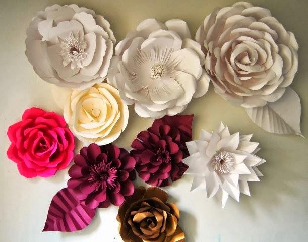 Tips Cara Membuat Bunga Kertas Ragam Kerajinan Tangan
