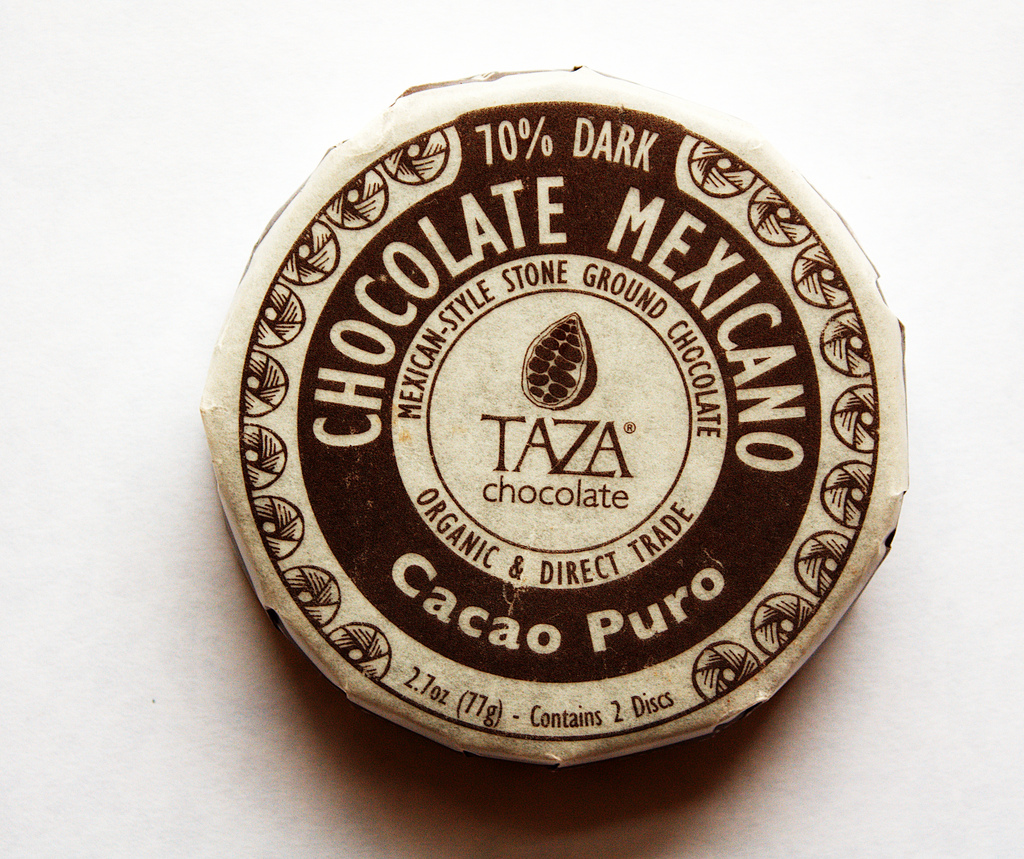 One Golden Ticket: Review: Taza Cacao Puro 70% Chocolate Mexicano