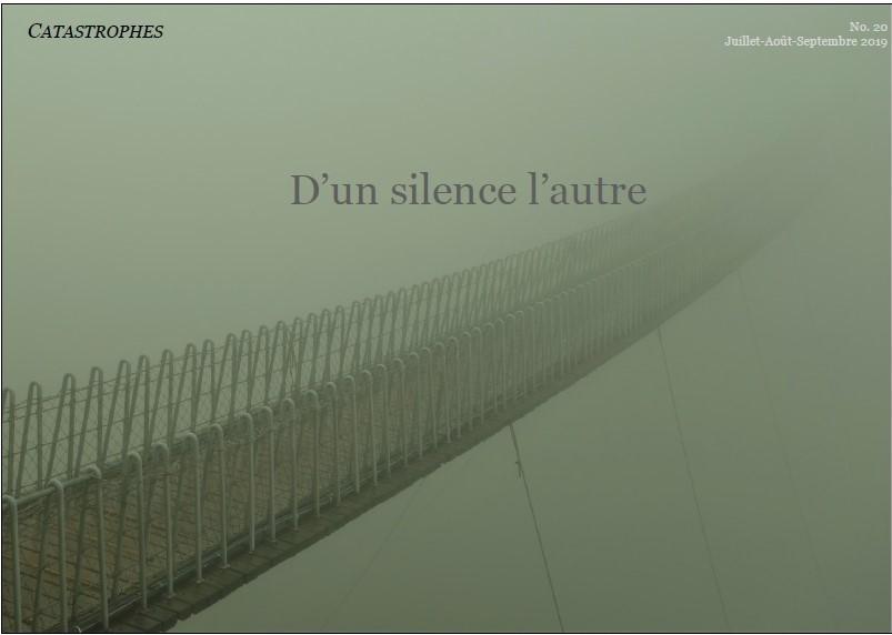REVUE CATASTROPHES, N° 20 « D'UN SILENCE L'AUTRE »