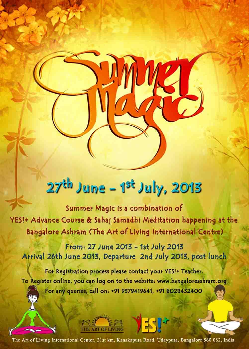 Summer Magic: 2013