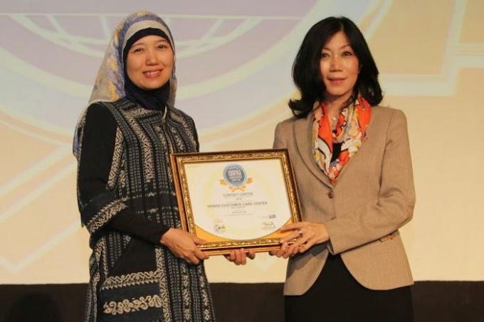 AHM Raih Penghargaan Contact Center Service Excellence Awards 2014