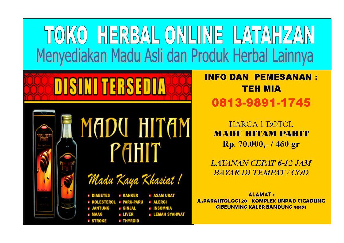 Agen Herbal Madu Hitam Pahit Asli Bandung Jual Az Zikra Original