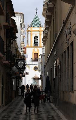 Calle Pedero Romero in Ronda