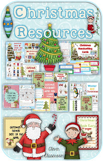 Clever Classroom's Christmas resources