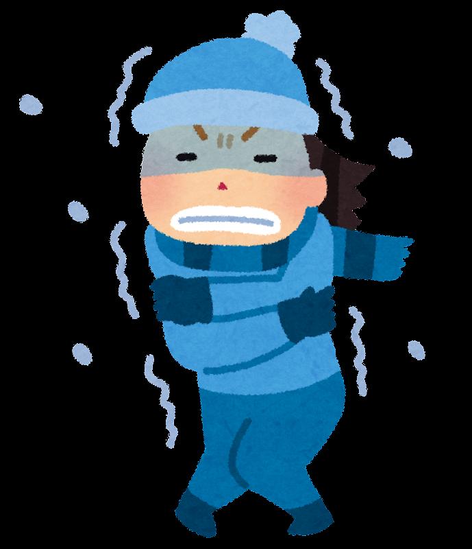 「寒い フリー素材 人」の画像検索結果