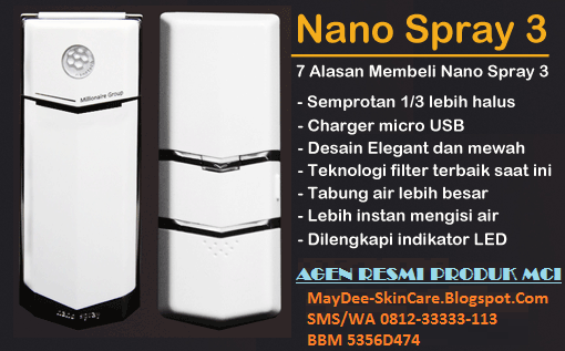 Agen Resmi Kosmetik MCI - Jual Nano 3 Spray + Glucola/Glukola + Magic Stick Asli