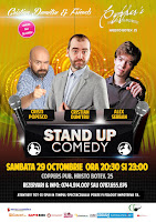 Stand-Up Comedy Sambata 29 Octombrie Bucuresti