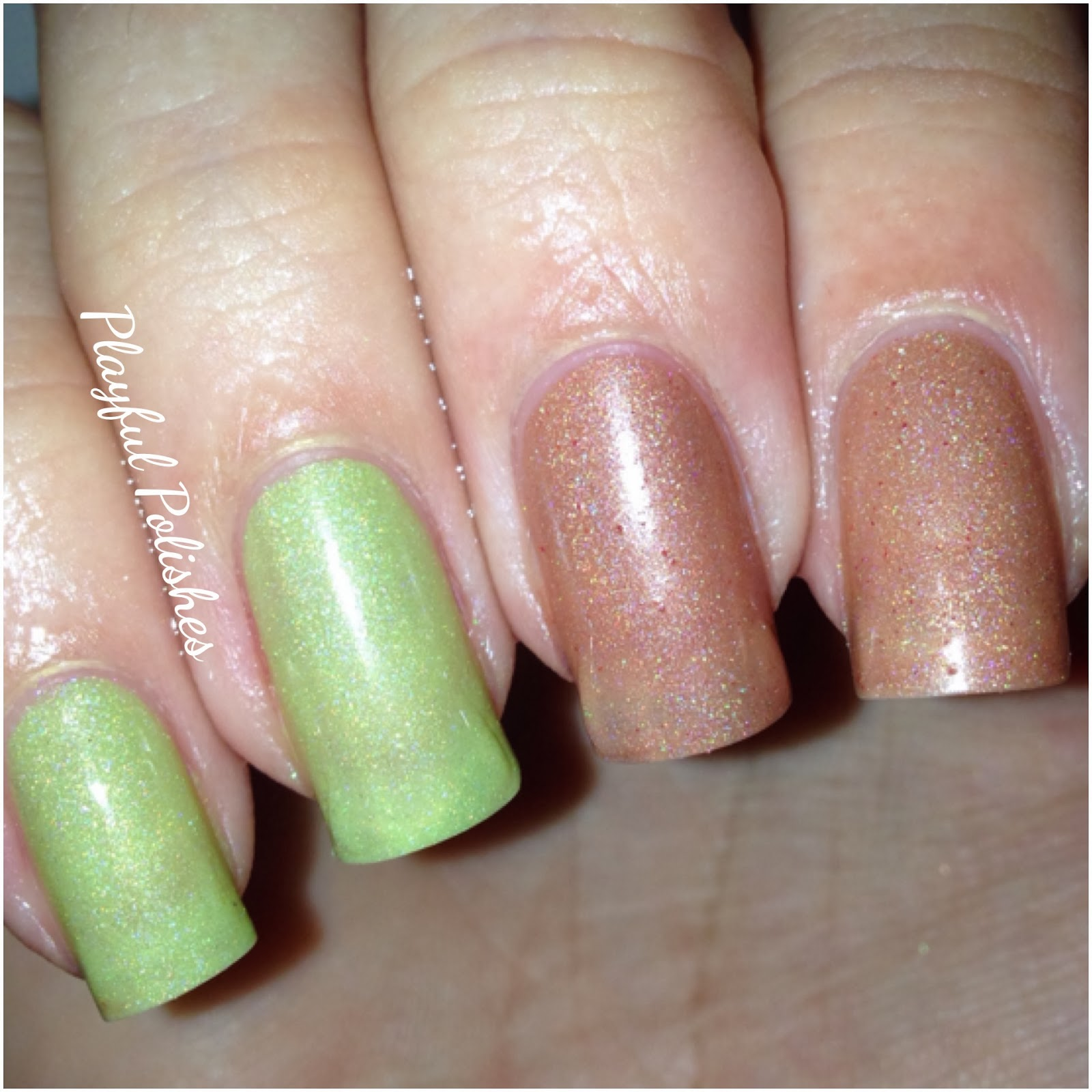Playful Polishes: DOCTOR LACQUER HOLO/THERMAL POLISHES
