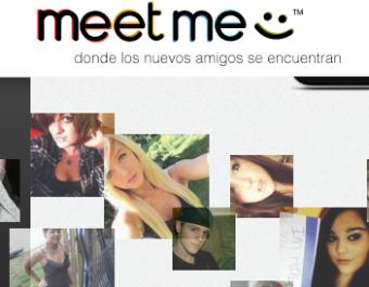Iniciar sesion en Meetme con Facebook