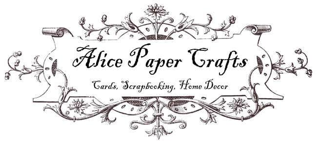 Alice Paper Crafts