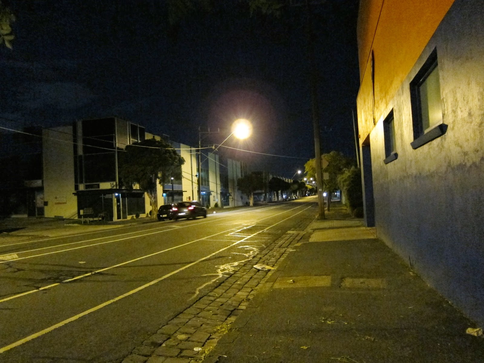 stubbs street from racecourse road
