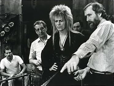 Dentro del laberinto, Jim Henson, David Bowie