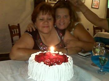 cumpleaños de mi mama en casa aranjuez 2011