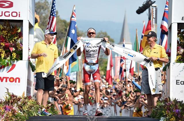 Jan Frodeno campeón de IRONMAN HAWAII 2015