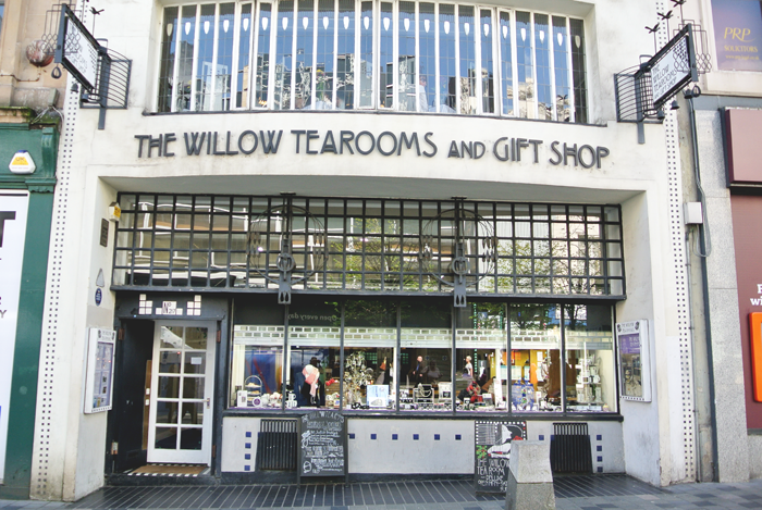 The Willow Tea Rooms, Sauchiehall Street, Glasgow