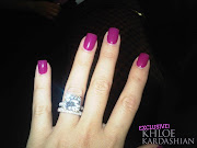 Side note: Khloe Kardashian's ring is WHERE IT'S AT.