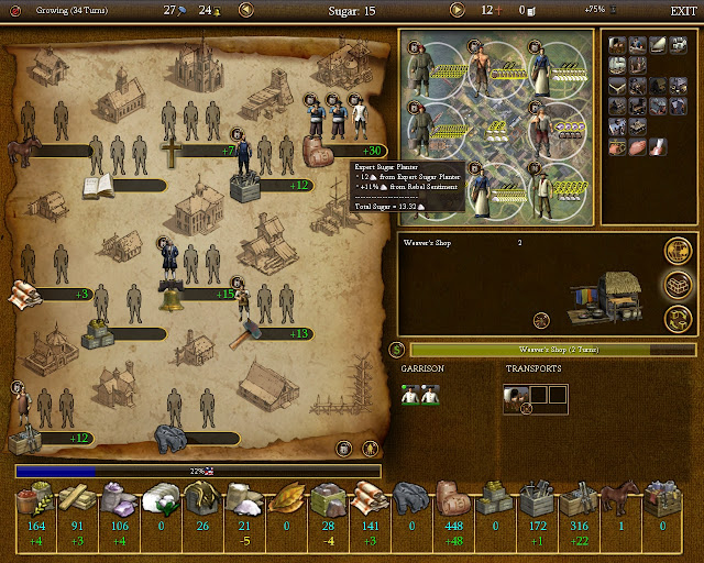 Civilization 4 Colonization - Rum Colony Screenshot