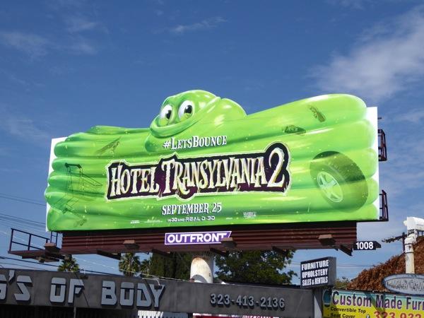 Hotel Transylvania 2 Blob Let's Bounce billboard