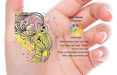 Largest online personalised printing and gifting store in india business cards plastic transparent how to make your card work for you reheart Gallery