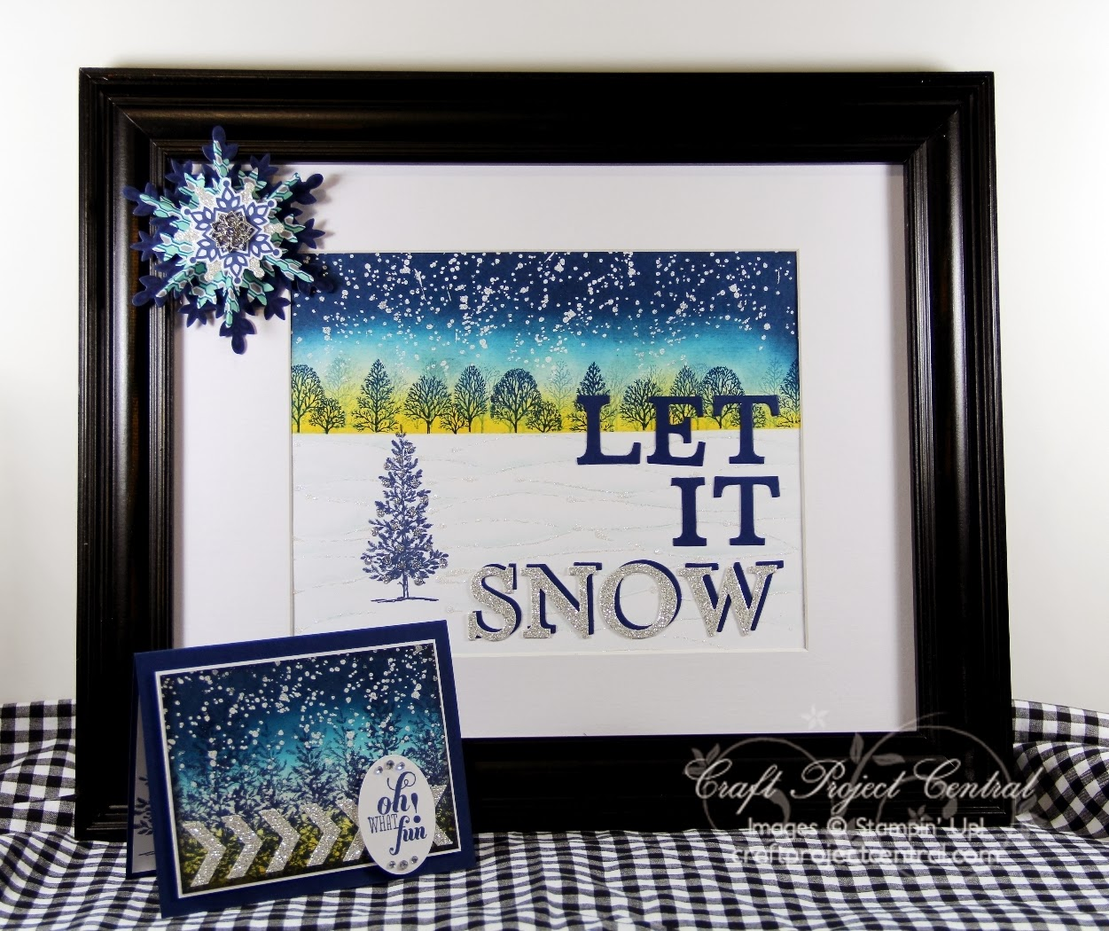 Let It Snow Decor
