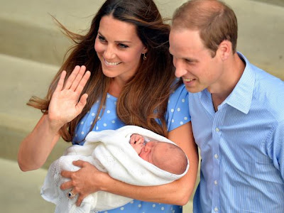 Gambar bayi Kate Middleton dan Prince William