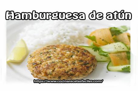 Recetas de hamburguesas de pescado,