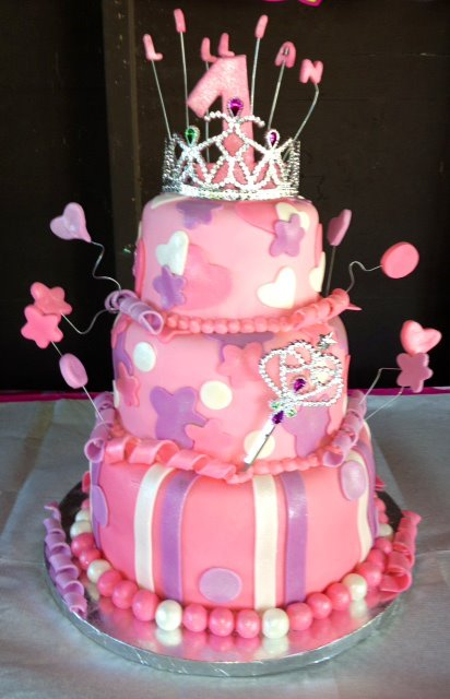 Anna Sweets by Jess: 1st Birthday for a Princess