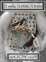 SWAP A BEAUTIFUL ATC with dear Kimberly!!