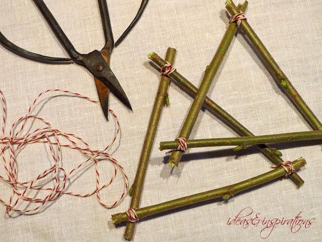 Basteln Mit ästen Und Zweigen basteln mit zweigen seitenteile verbinden herbstkranz aus zweigen basteln basteln mit