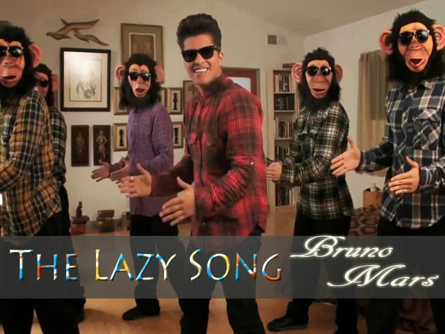 The Lazy Song Bruno Mars Converted Music Letter Notation With