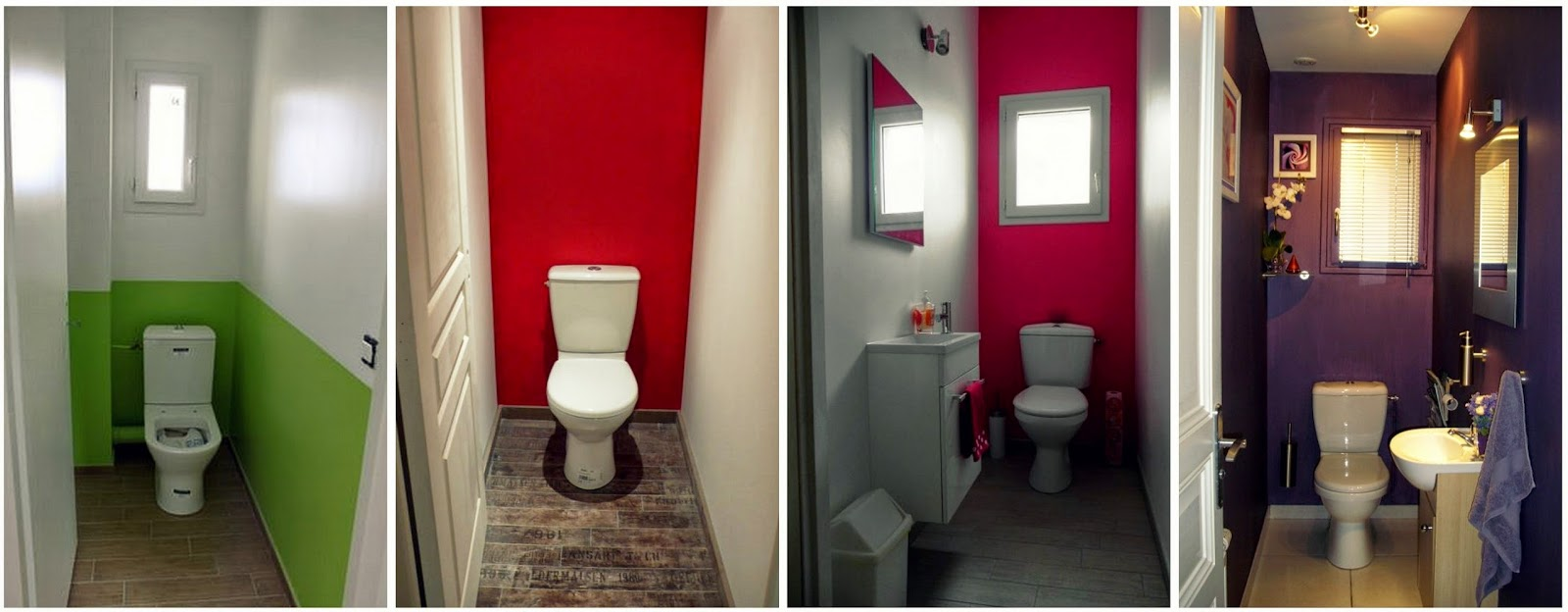 Beautiful id e couleur wc contemporary for Quelle couleur pour mes toilettes