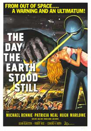 Science fiction movie it s a 1951 robert wise film that is simply made