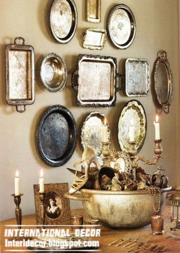 Serving Trays On The Wall 24 Unusual Decor Ideas