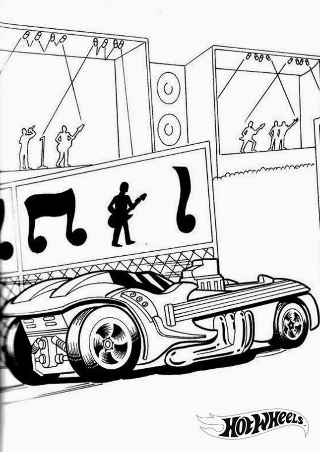 Hot Wheels Coloring Pages 5