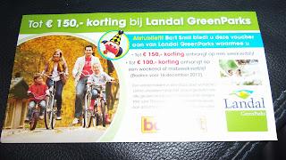 www.landal.nl/bartsmit BSM22l tot 150 euro korting