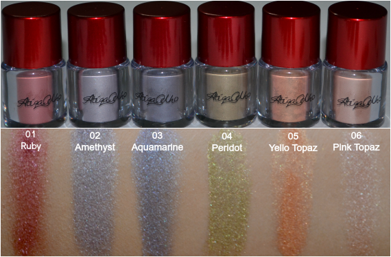 Atiqa Odho EyeShadow Pigments