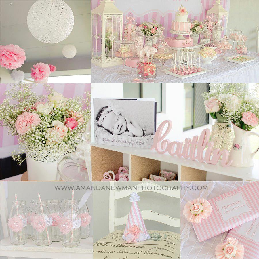 Little big company the blog beautiful pink 1st birthday for 1st birthday decoration themes