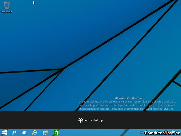windows 9 sayfa ekleme