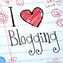 I love blogging!