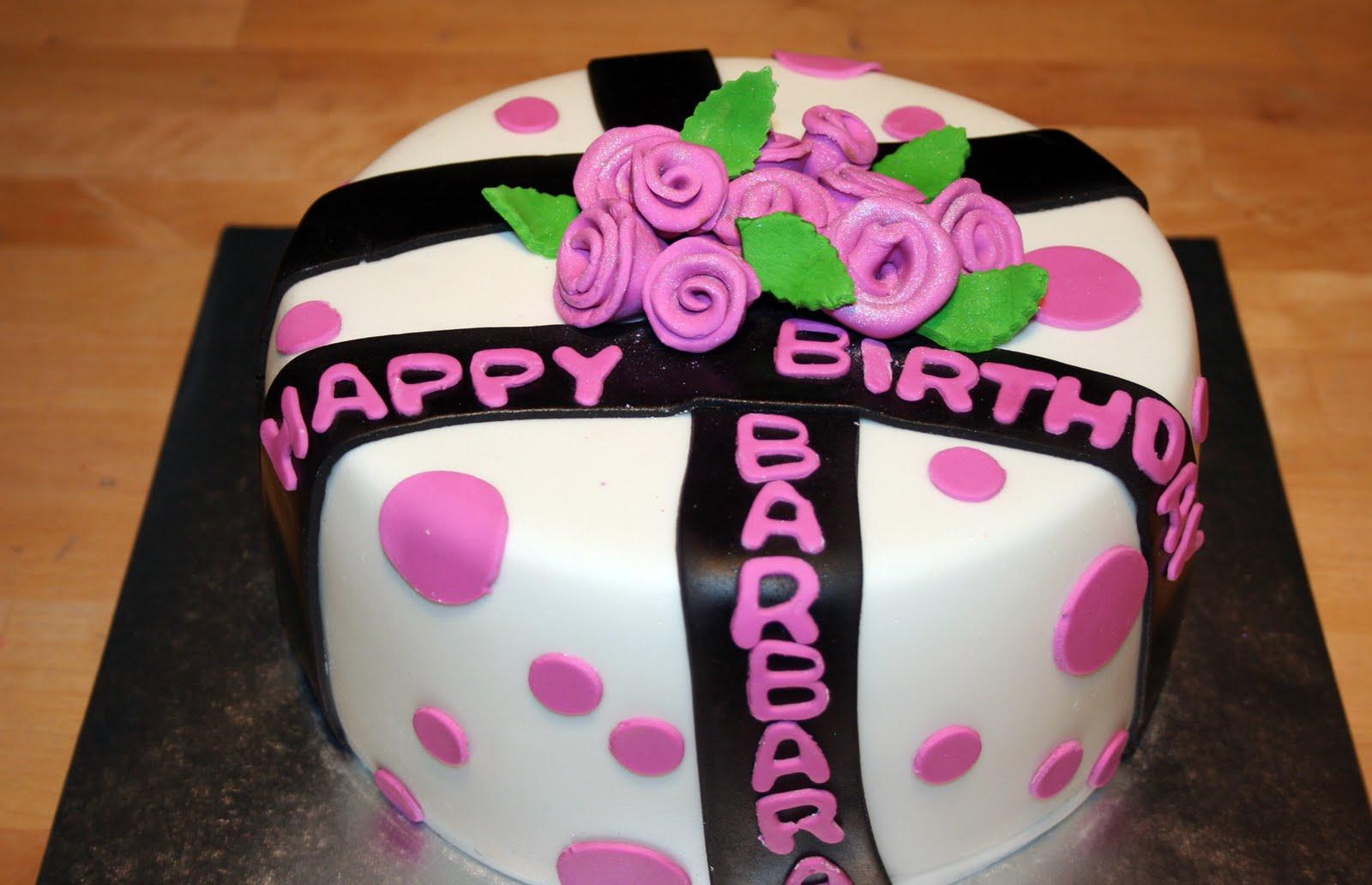 Frosted Garden May - Birthday cake barbara
