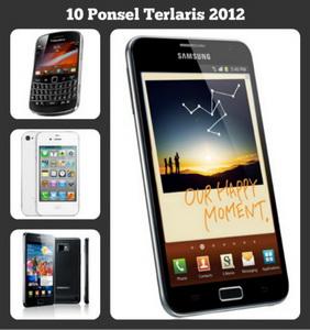 Berikut Nih Dia 10 Ponsel yang Paling Laris di 2012