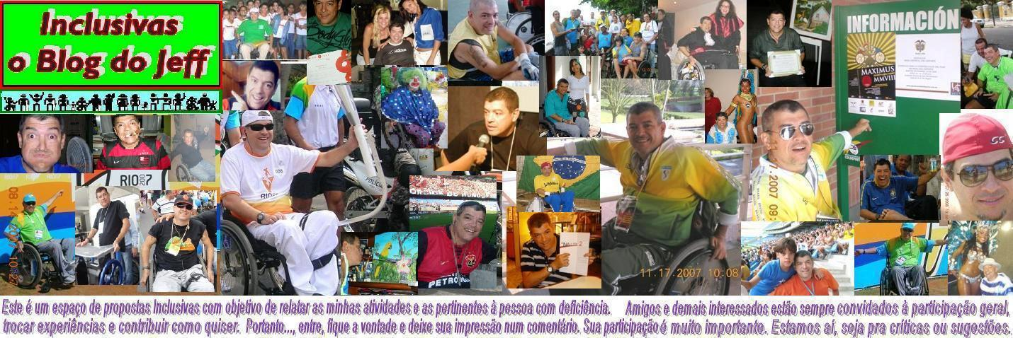 INCLUSIVAS, o Blog do Jeff