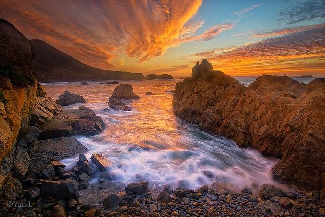 Garrapata State Park, em Carmel, Monterey, na Califórnia
