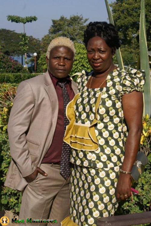 Rui Michel e sua namorada