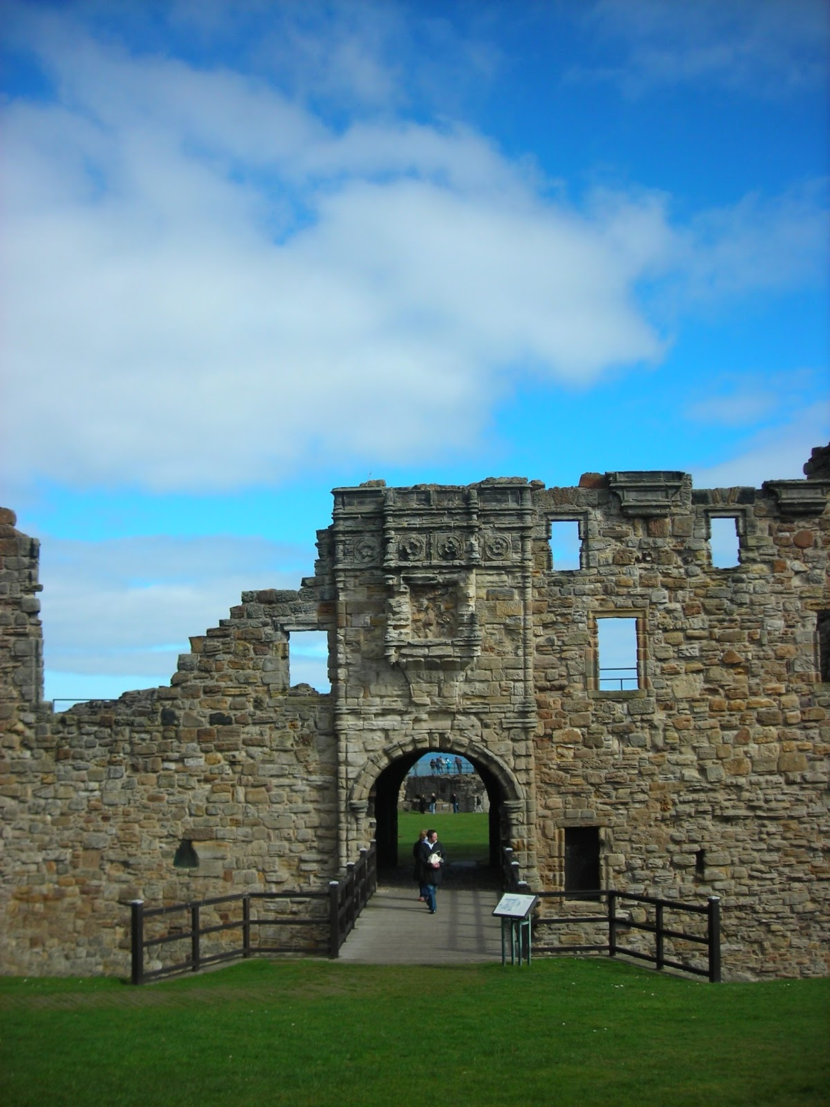 St Andrews ruins, entrance
