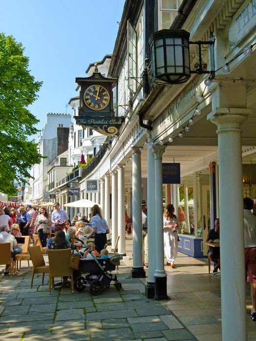 Pantiles, Tunbridge Wells, Georgian shopping mall