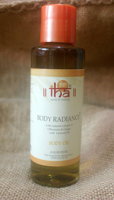 IHA Body Radiance Massage Oil Review