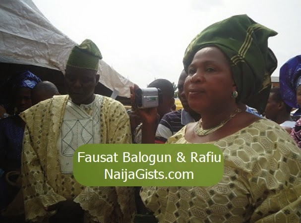 fausat balogun husband two wives