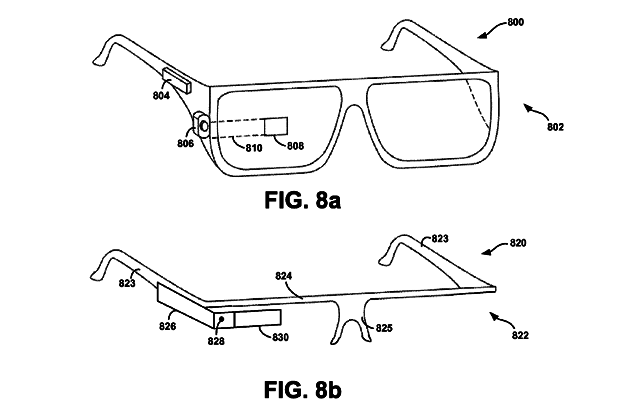 Google applies for projector patent Project Glass