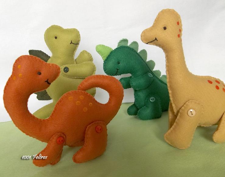 Excepcional 1001 Feltros: Muitos dinossauros e resultado do sorteio da Hak  WD14